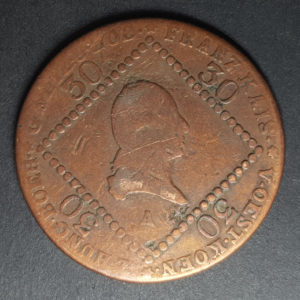 1807 Austria 30 Kreuzer