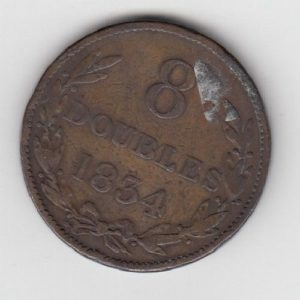 1834 Guernsey 8 Doubles