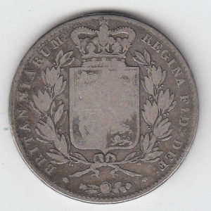 1844 Queen Victoria Crown