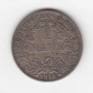 1914 German One Mark