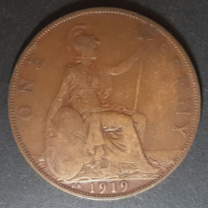 1919 King George KN Penny