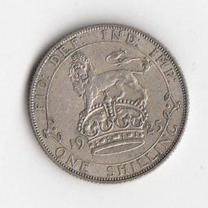 1925 King George Shilling