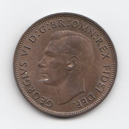 1949 King George VI Penny