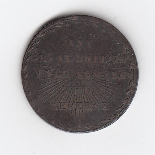 1794 Middlesex Halfpenny Token