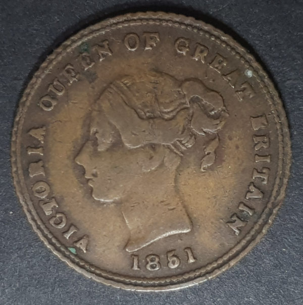 Obverse 1851 Queen Victoria Pattern Half Sovereign