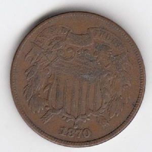 1870 United States Two Cents