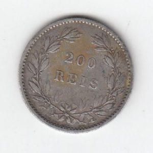 1887 Portugal 200 Reis