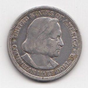 1893 United States Columbian Exposition Half Dollar