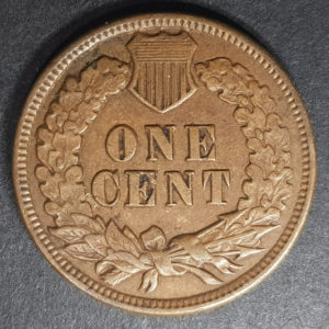 1900 United States Indian Head One Cent