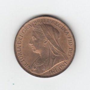 1901 Queen Victoria Penny