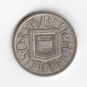 1925 Austrian Silver Half Shilling