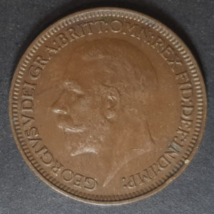 1934 George V Farthing