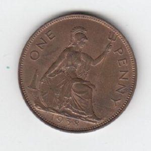 1938 King George VI Penny