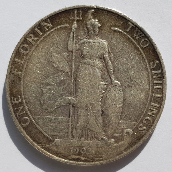 1876 Queen Victoria Silver Maundy 4d