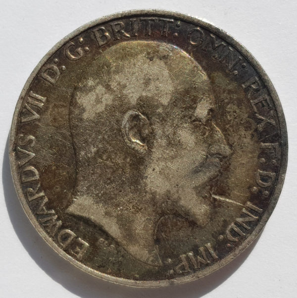 Obverse 1876 Queen Victoria Silver Maundy 4d