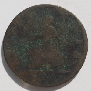 1754 King George II Farthing