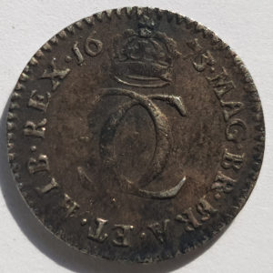 1673 King George II Silver Maundy 2d