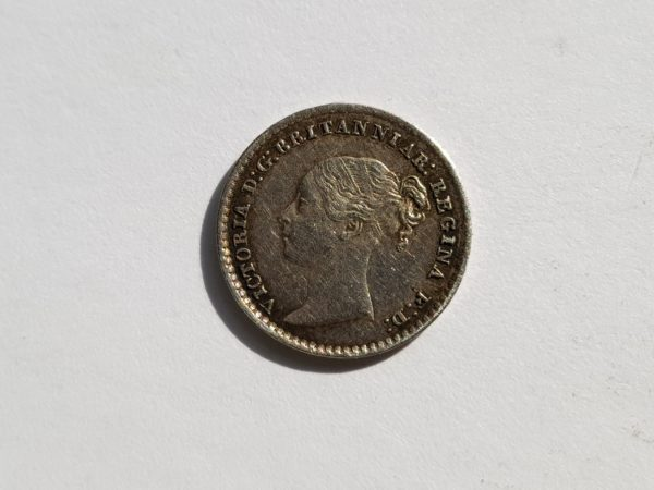 1843 Queen Victoria Silver Maundy 2d