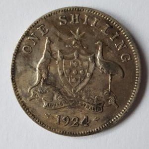 1924 Australia Shilling