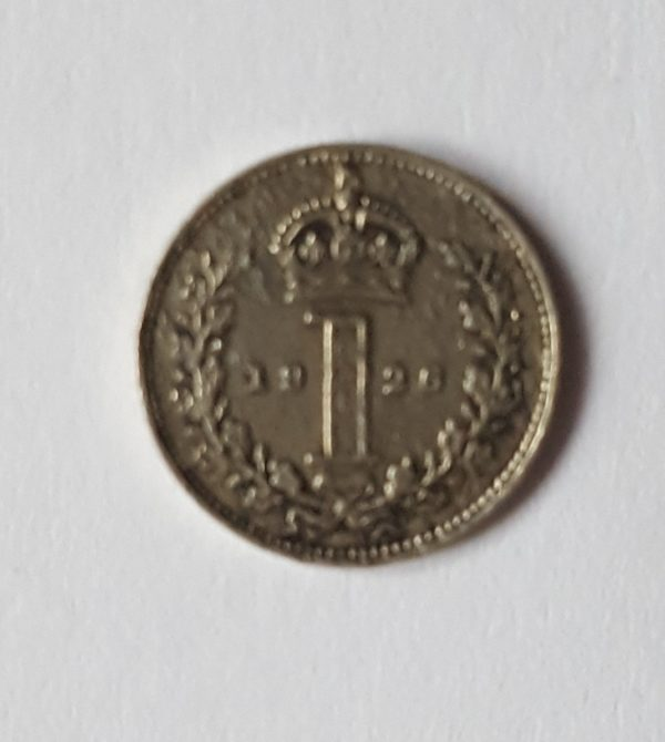 1926 King George V Silver Maundy Penny