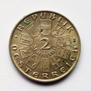 1930 Austria Two Shillings