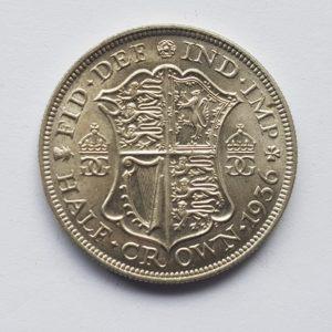 1936 King George V Half Crown