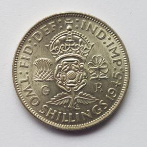 1945 King George VI Florin