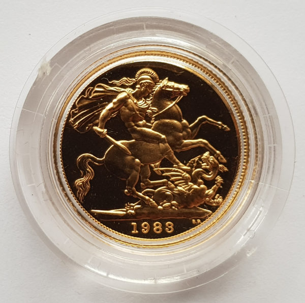 1983 Gold Proof Sovereign 1