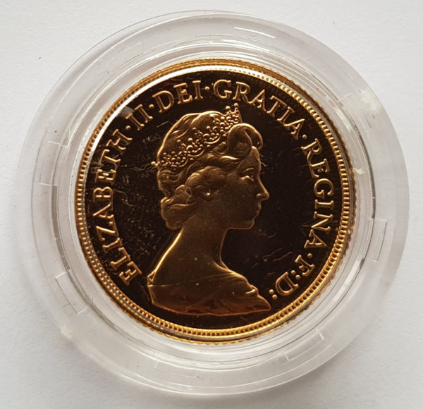 1983 Gold Proof Sovereign 2