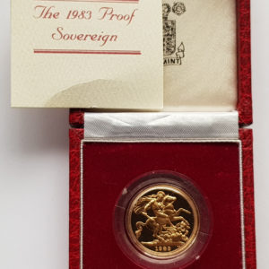 1983 Gold Proof Sovereign