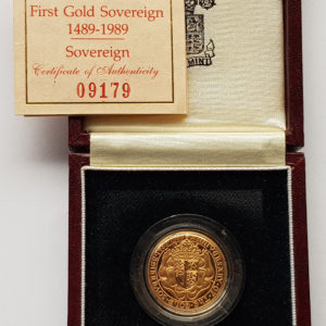 1989 Gold Proof Sovereign