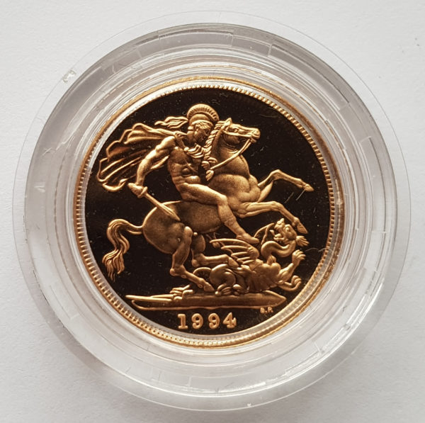 1994 Gold Proof Sovereign 1
