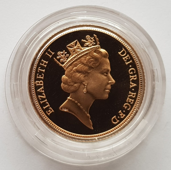 1994 Gold Proof Sovereign 2