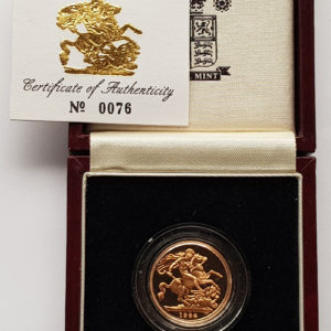 1994 Gold Proof Sovereign