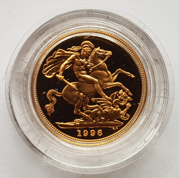 1996 Gold Proof Sovereign 1