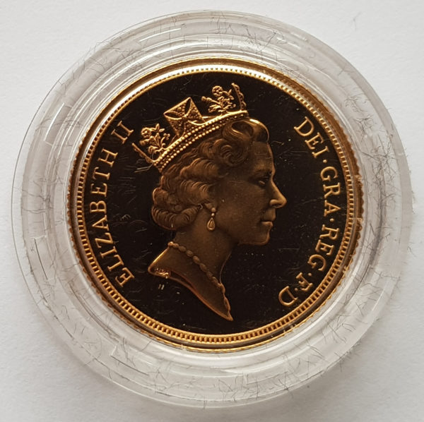 1996 Gold Proof Sovereign 2