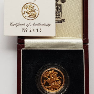 1996 Gold Proof Sovereign