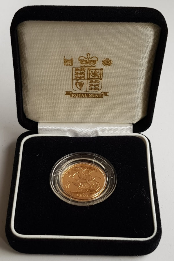 2001 Gold Proof Sovereign