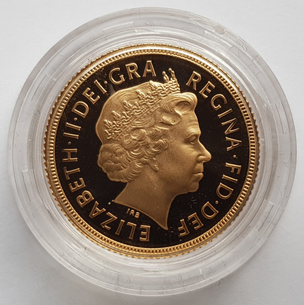 2002 Gold Proof Sovereign 2