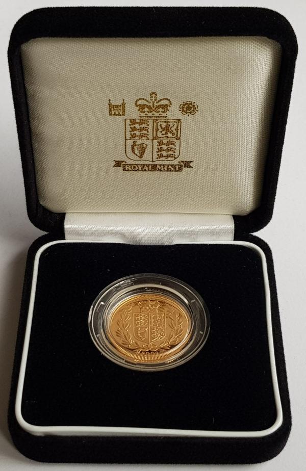2002 Gold Proof Sovereign