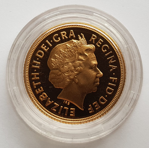 2004 Gold Proof Sovereign 2