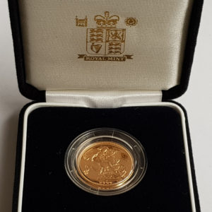 2004 Gold Proof Sovereign