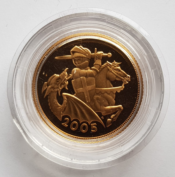2005 Gold Proof Sovereign 1