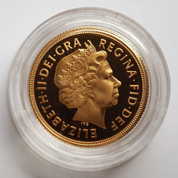 2005 Gold Proof Sovereign 2