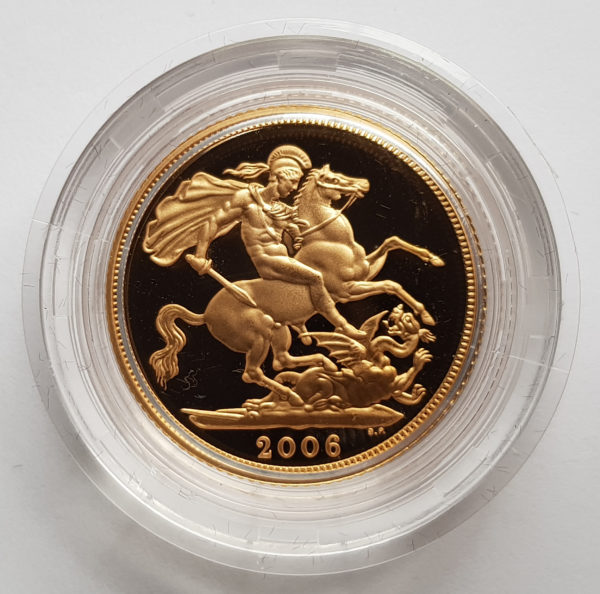 2006 Gold Proof Sovereign 1