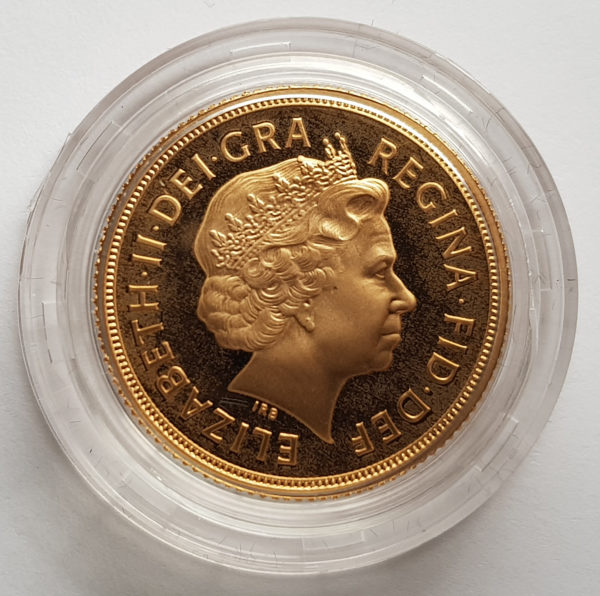2006 Gold Proof Sovereign 2