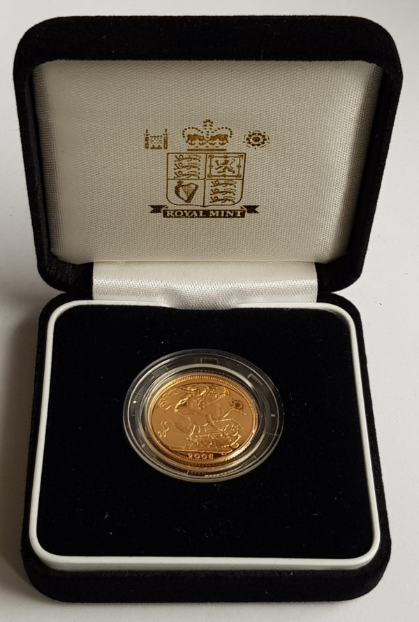 2006 Gold Proof Sovereign