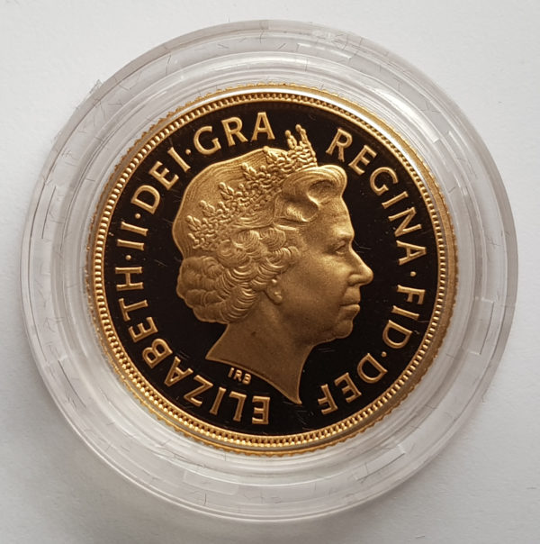 2007 Gold Proof Sovereign 2