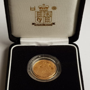 2007 Gold Proof Sovereign