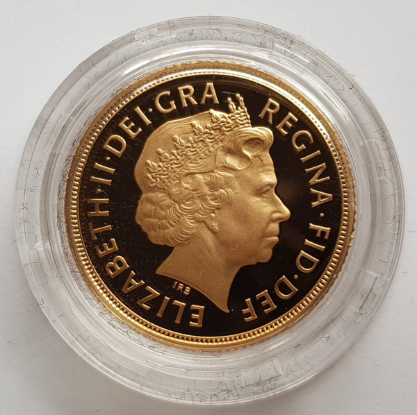 2008 Gold Proof Sovereign 2